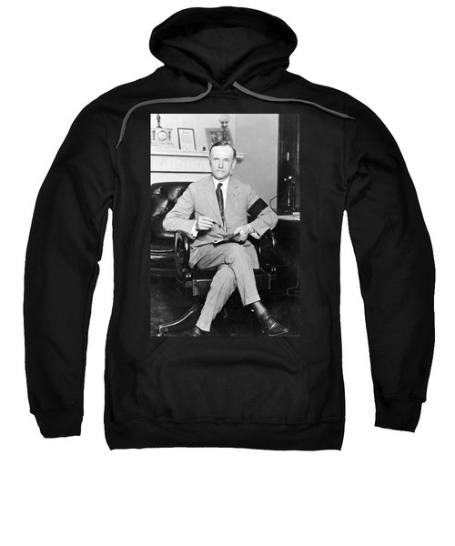 President Calvin Coolidge Sweatshirt by International  Images