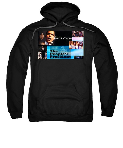 The People's President Sweatshirt by Terry Wallace