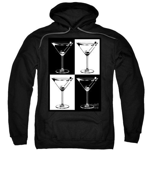 Classic Martini  Sweatshirt by Jon Neidert