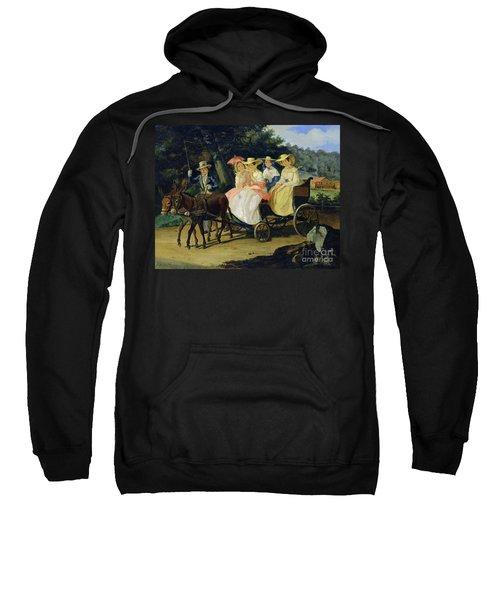 A Run Sweatshirt by Aleksandr Pavlovich Bryullov
