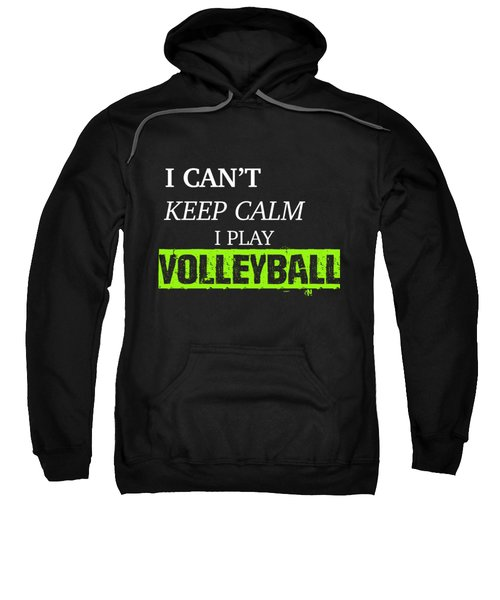 I Play Volleyball Sweatshirt by Meli Mel