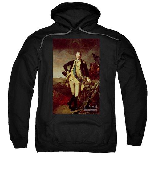 Portrait Of George Washington Sweatshirt by Charles Willson Peale