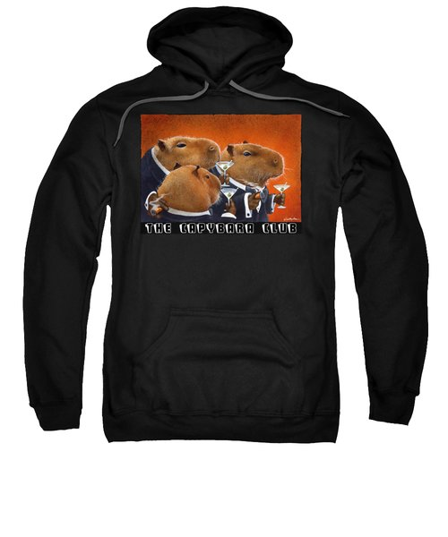The Capybara Club Sweatshirt by Will Bullas
