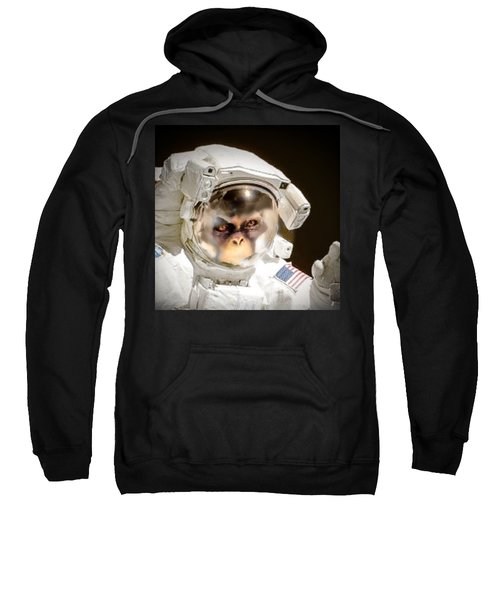 1st Into Space  Sweatshirt by Scott French