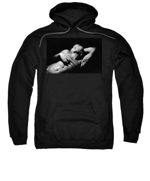 The Dying Slave Sweatshirt by Michelangelo Buonarroti