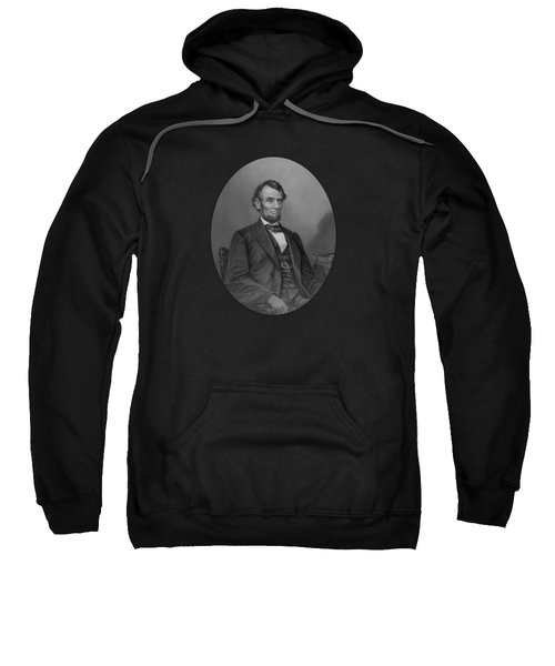 Abraham Lincoln Sweatshirt by War Is Hell Store