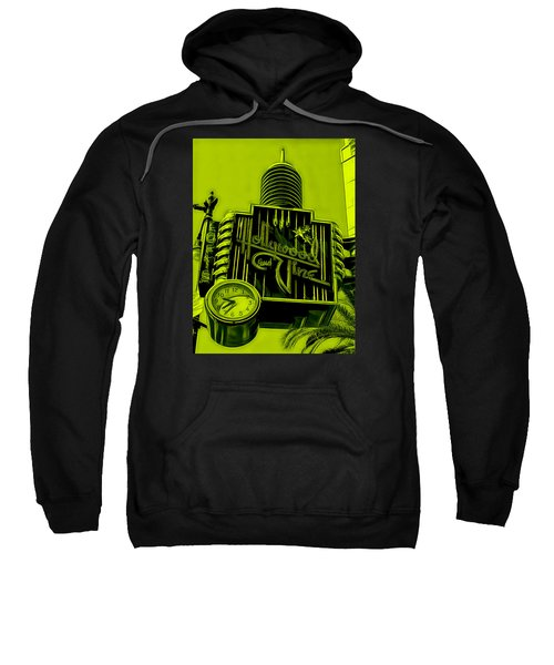 Hollywood And Vine Street Sign Collection Sweatshirt by Marvin Blaine