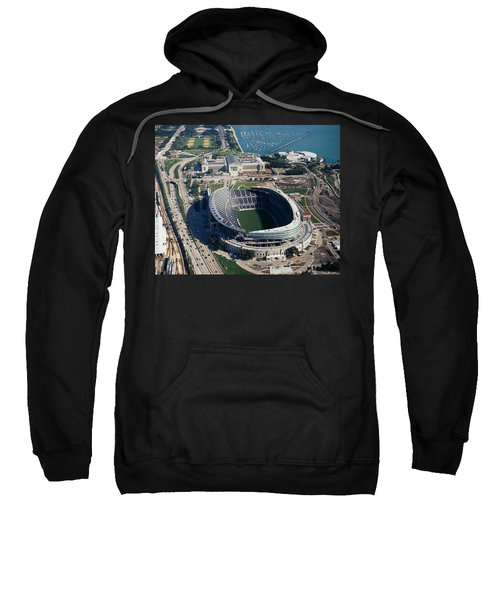 Aerial View Of A Stadium, Soldier Sweatshirt by Panoramic Images