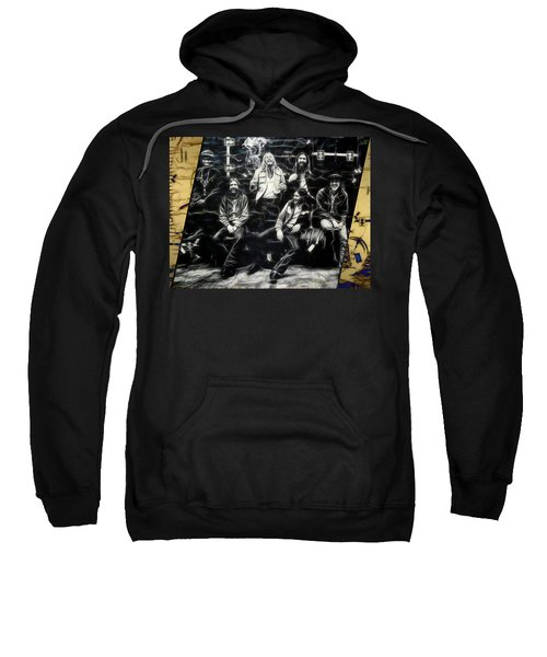 The Allman Brothers Collection Sweatshirt by Marvin Blaine