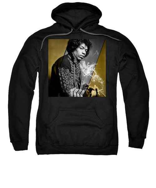 Jimi Hendrix Collection Sweatshirt by Marvin Blaine