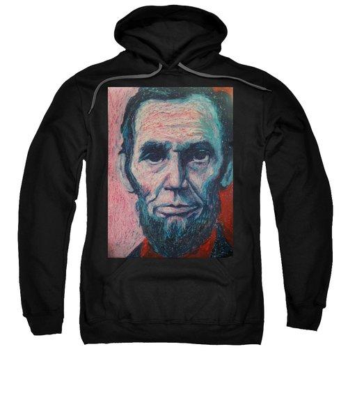 Abraham Lincoln Sweatshirt by Regina WARRINER
