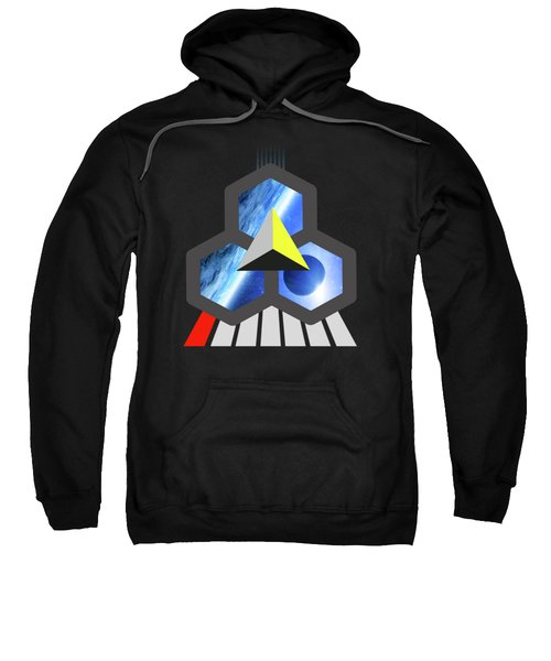 Abstract Space 1 Sweatshirt by Russell K