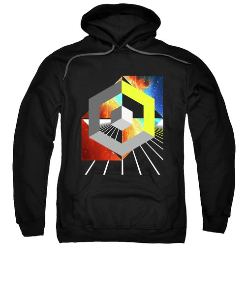 Abstract Space 4 Sweatshirt by Russell K