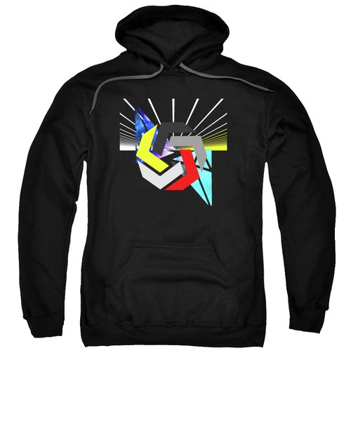 Abstract Space 6 Sweatshirt by Russell K