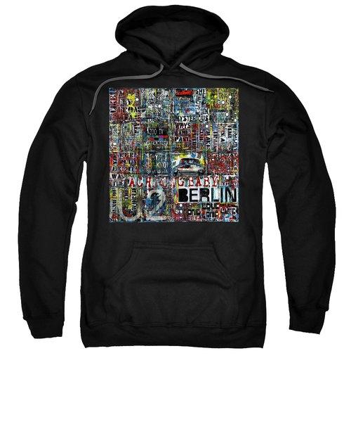 Achtung Baby Sweatshirt by Frank Van Meurs