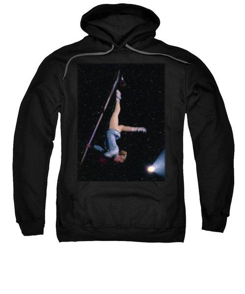 Aerial Acrobat Sweatshirt by Jon Delorme