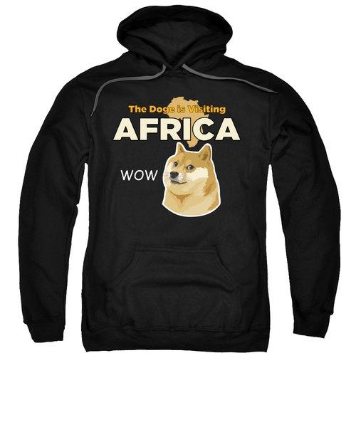 Africa Doge Sweatshirt by Michael Jordan
