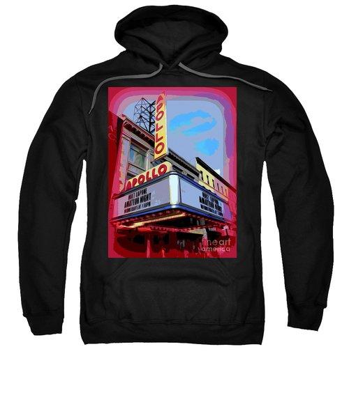Amateur Night At The Apollo Sweatshirt by Ed Weidman