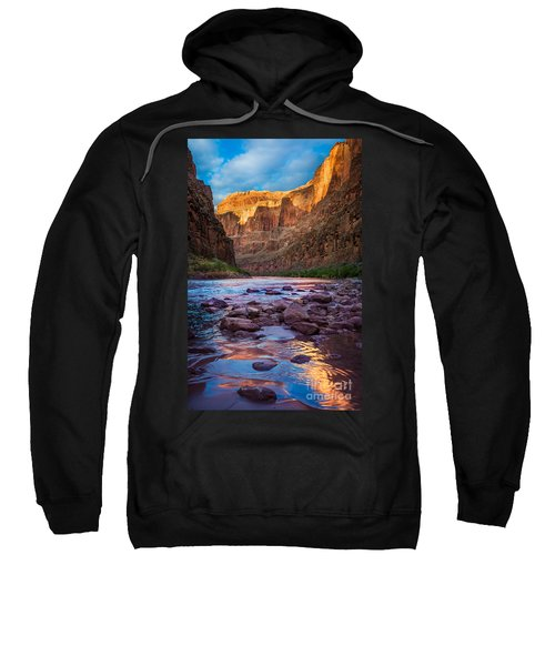 Ancient Shore Sweatshirt by Inge Johnsson