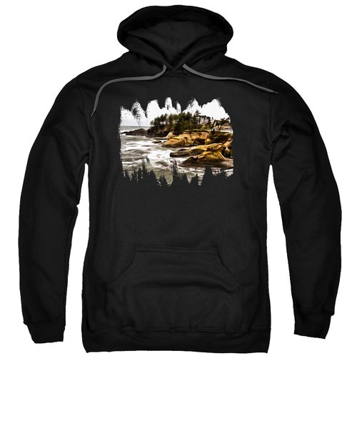 Arch Rock Depoe Bay Sweatshirt by Thom Zehrfeld