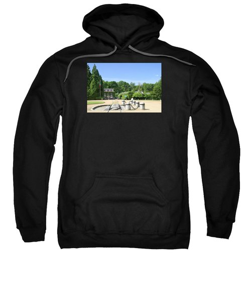 Sweatshirt featuring the photograph Armistice Clearing In Compiegne by Travel Pics