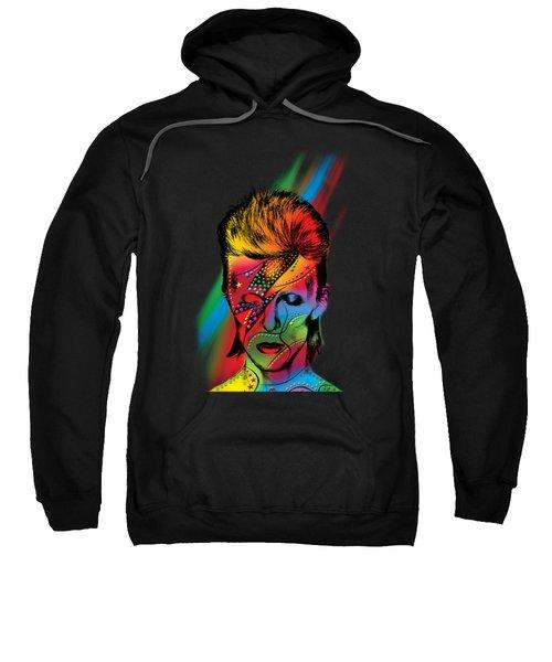David Bowie Sweatshirt by Mark Ashkenazi