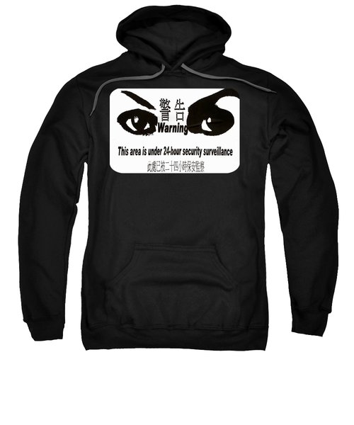 Eye Spy Sweatshirt by Ethna Gillespie