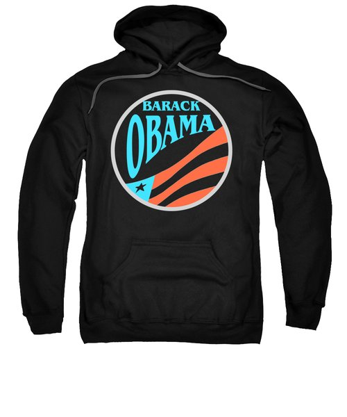 Barack Obama - Tshirt Design Sweatshirt by Art America Online Gallery