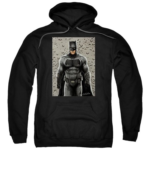 Batman Ben Affleck Sweatshirt by David Dias