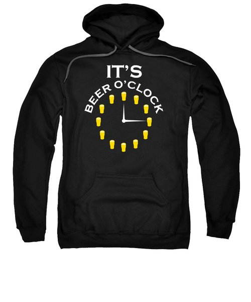 Beer O Clock Sweatshirt by Rully Sachrul