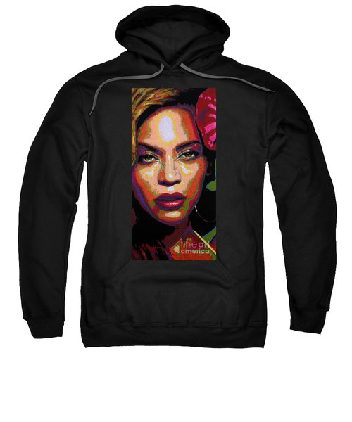 Beyonce Sweatshirt by Maria Arango
