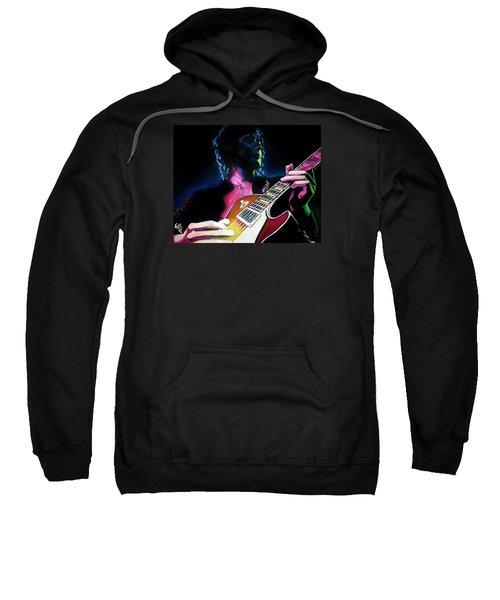 Black Dog Sweatshirt by Tom Carlton