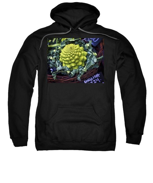 Brassica Oleracea Sweatshirt by Heather Applegate