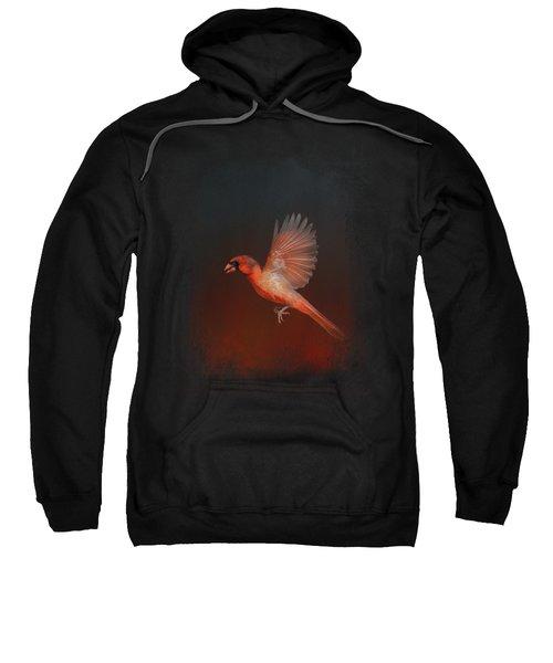 Cardinal 1 - I Wish I Could Fly Series Sweatshirt by Jai Johnson