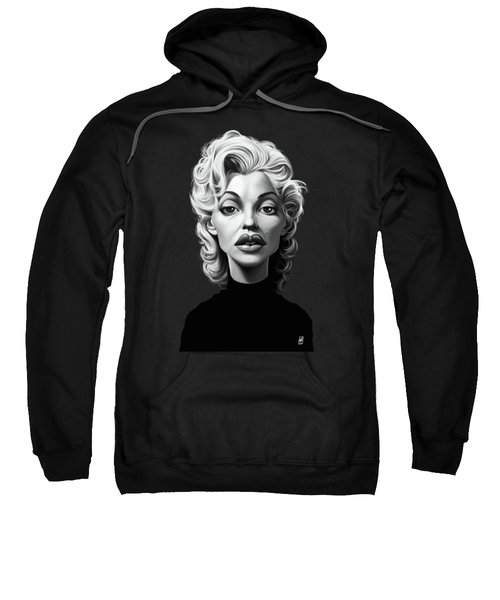 Celebrity Sunday - Marilyn Monroe Sweatshirt by Rob Snow