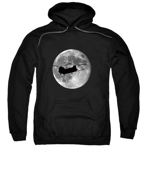 Chinook Moon .png Sweatshirt by Al Powell Photography USA