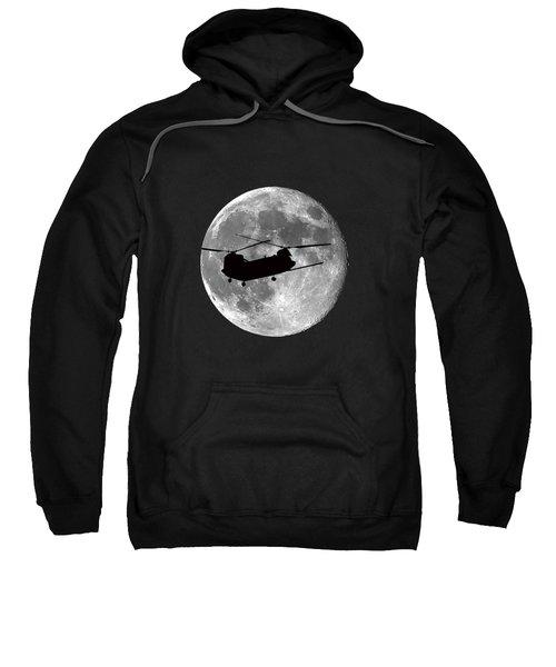 Chinook Moon .png Sweatshirt by Al Powell Photography USA