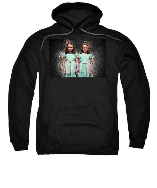 Come Play With Us - The Shining Twins Sweatshirt by Taylan Apukovska