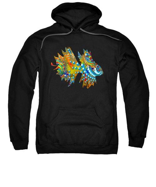 Cosmic Guppy Sweatshirt by Deborah Runham