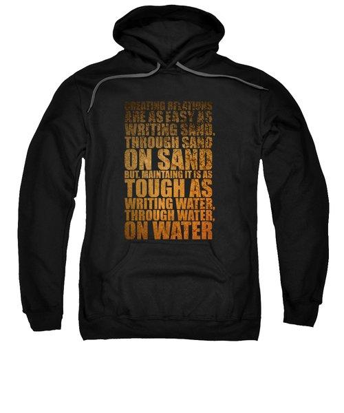 Creating Relations Sweatshirt by Maria Christi