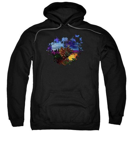Dahlia Field Sweatshirt by Thom Zehrfeld