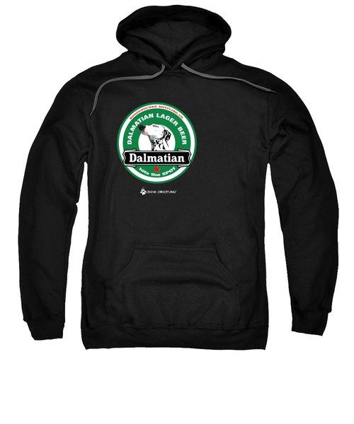 Dalmatian Lager Beer Sweatshirt by John LaFree