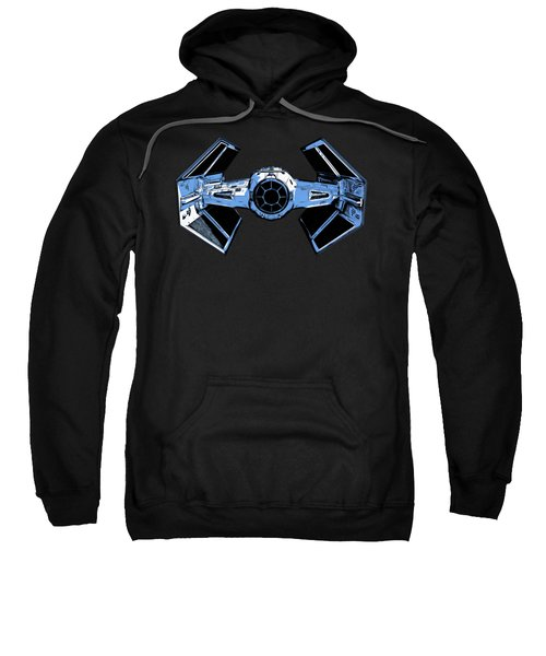 Darth Vaders Tie Figher Advanced X1 Tee Sweatshirt by Edward Fielding