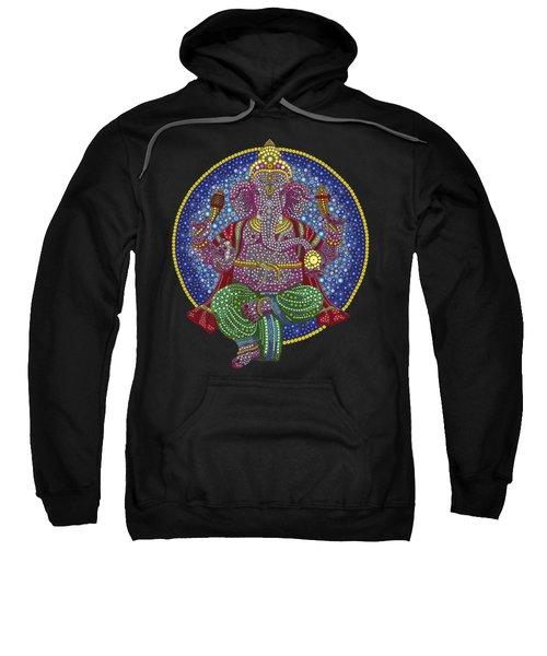 Digital Ganesha Sweatshirt by Tim Gainey