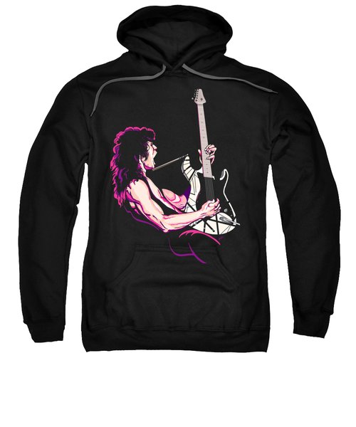 Eddie Van Halen Sweatshirt by GOP Art