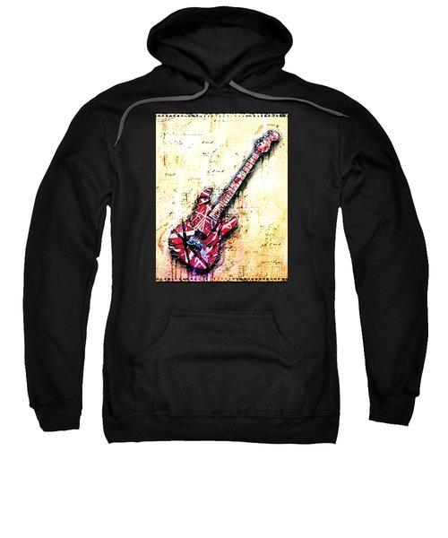 Eddie's Guitar Variation 07 Sweatshirt by Gary Bodnar
