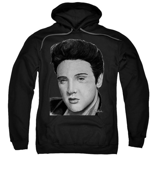 Elvis A Presley Sweatshirt by Bill Richards