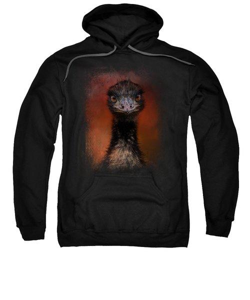 Emu Stare Sweatshirt by Jai Johnson