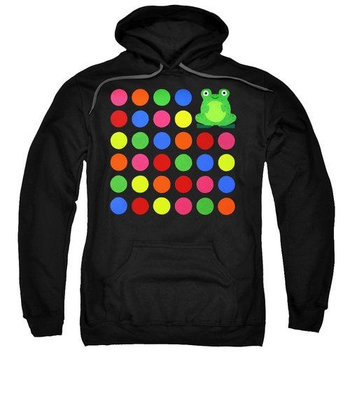 Discofrog Remix Sweatshirt by Oliver Johnston