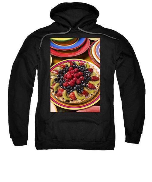 Fruit Tart Pie Sweatshirt by Garry Gay